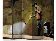 Paraván - Banksy - Cave Painting II [Room Dividers]